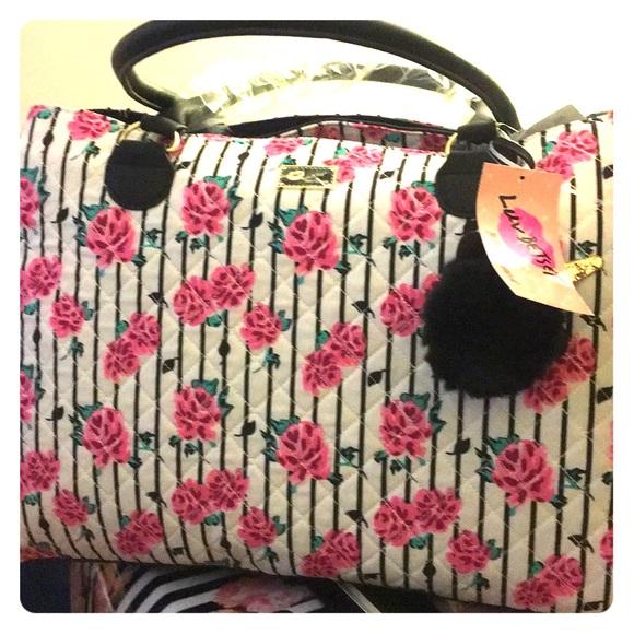 Betsey Johnson Handbags - Betsy Johnson New With Tag White Weekender Bag